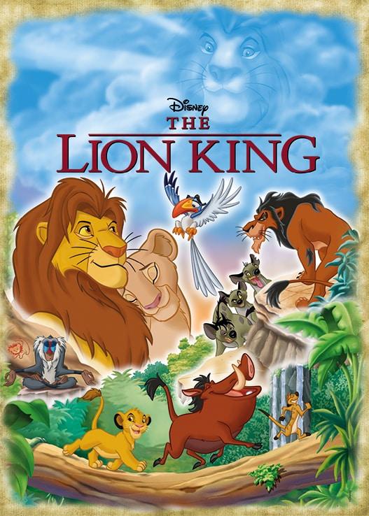 Disney Lion King Movie Poster Jumbo18823 01 Legpuzzels.nl
