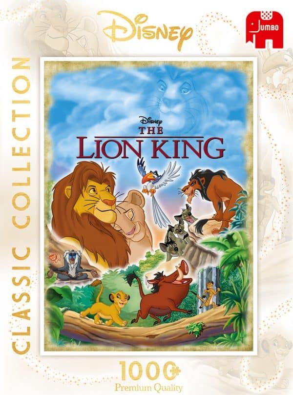 Disney Lion King Movie Poster Jumbo18823 04 Legpuzzels.nl