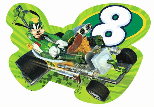 Disney Goofy Roadster Racers Vloerpuzzel