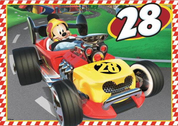 Disney Mickey Roadster Racers Vloerpuzzel