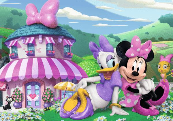Disney Minnie Happy Helpers Kleurplaatpuzzel