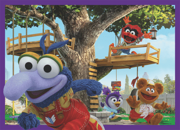 Disney Muppet Babies Jumbo Kinderpuzzels