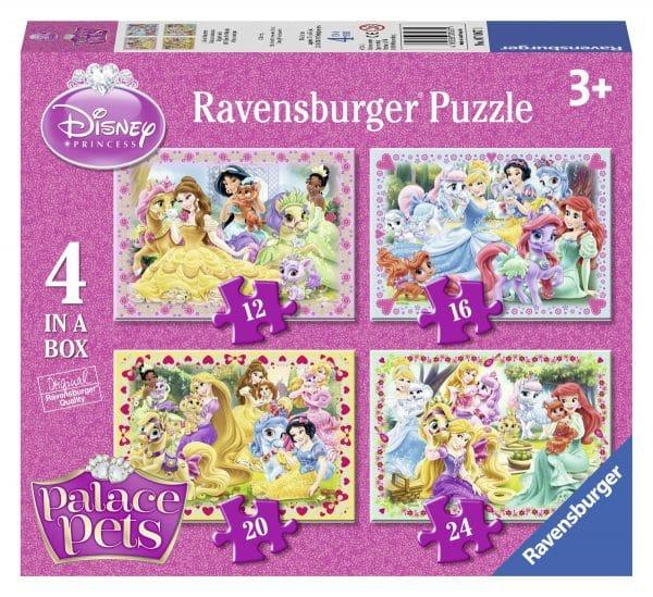 Disney Palace Pets 4 In 1 Ravensburger070671 01 Kinderpuzzels.nl .jpg