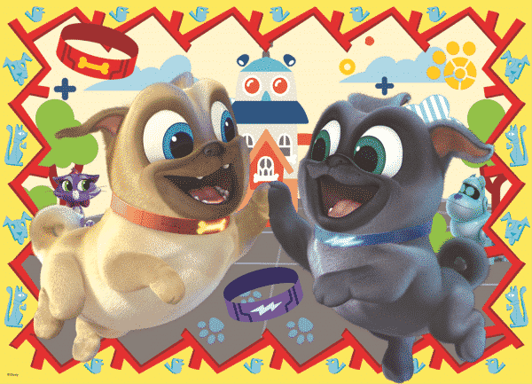 Disney Puppy Dog Palls Kinderpuzzels