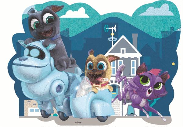 Disney Puppy Dog Palls Kinderpuzzels