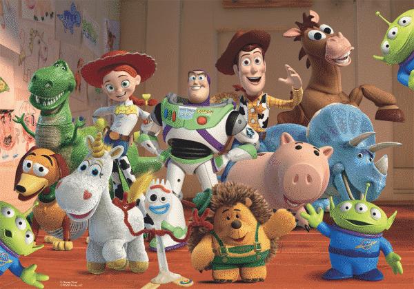 Disney Toy Story Kleurplaat puzzel