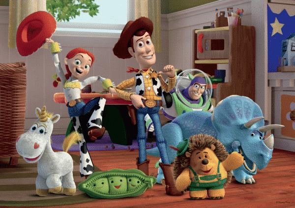 Disney Toy Story Stickers Kinderpuzzels