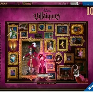 Disney Villainous Collectie Captain Hook Ravensburger150229 02 Legpuzzels.nl
