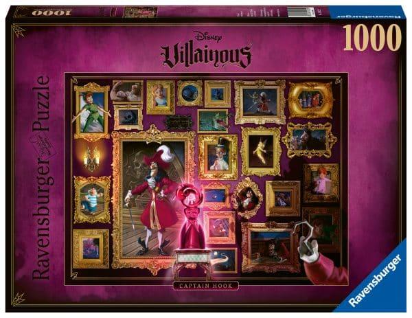 Disney Villainous Collectie Captain Hook Ravensburger150229 02 Legpuzzels.nl
