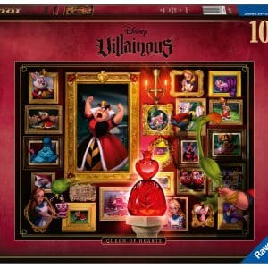 Disney Villainous Collectie Queen Of Hearts Ravensburger150267 02 Legpuzzels.nl