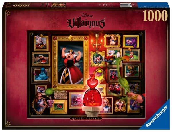 Disney Villainous Collectie Queen Of Hearts Ravensburger150267 02 Legpuzzels.nl