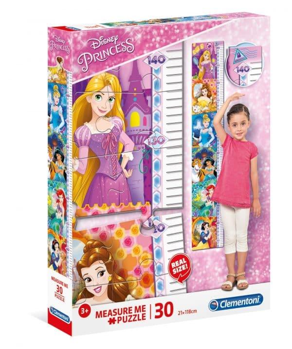 Disney Prinsessen Clementoni Kinderpuzzel groeimeter