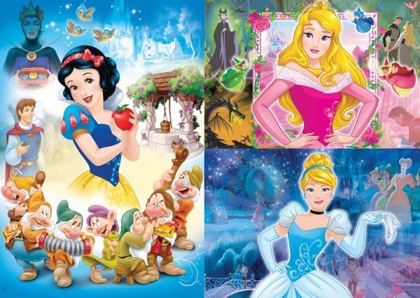 Disney Prinsessen Clementoni Kinderpuzzels