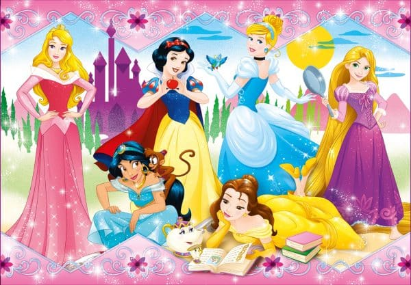 Disney Prinsessen Sneeuwwitje Doornroosje Assepoester