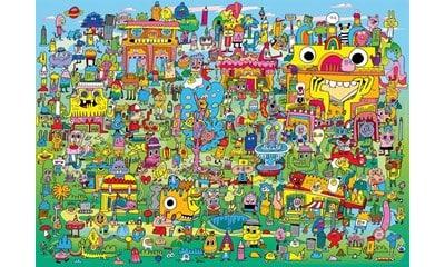 doodle village heye29936 01 legpuzzels