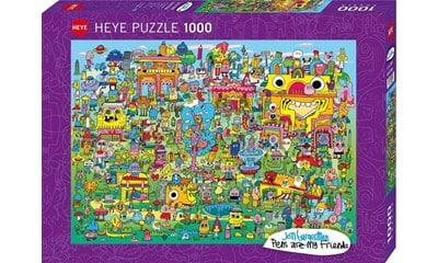 doodle village heye29936 02 legpuzzels