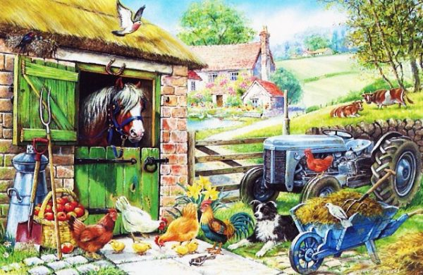 Down On The Farm The House Of Puzzles Legpuzzel 5060002001394 1.jpg