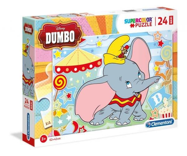 Dumbo Clementoni Kinderpuzzel Olifant Disney