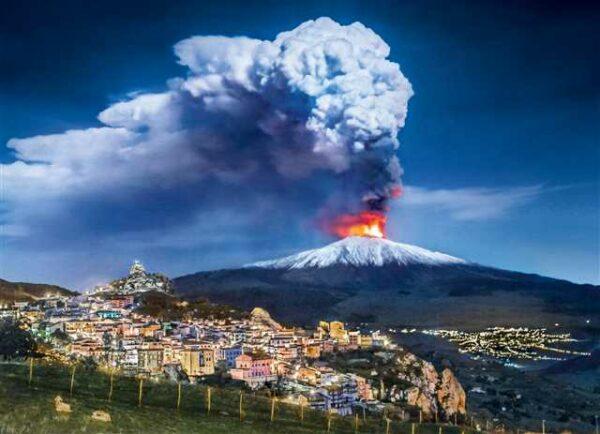 Etna Vulkaan Clementoni