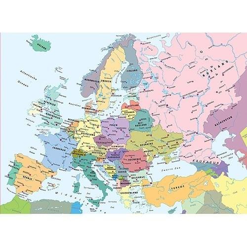 Europa Kaart Ravensburger Kinderpuzzels