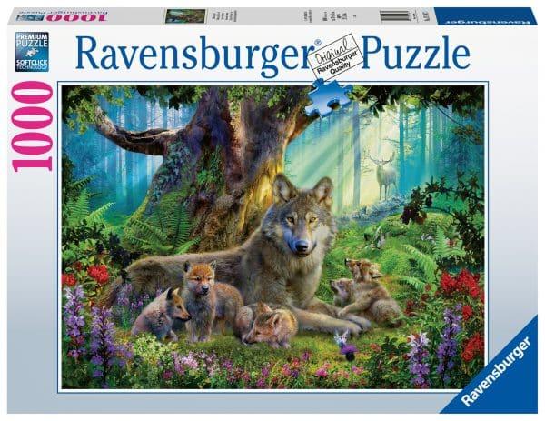 Familie Wolf In Het Bos Ravensburger159871 02 Legpuzzels.nl