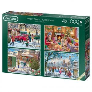 Family Time At Christmas Jumbo11269 02 Legpuzzels.nl