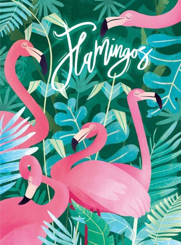 Fantastic Animal Flamingos Clementoni