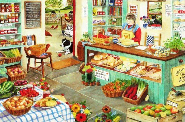 Farm Shop The House Of Puzzles Legpuzzel 5060002001257 1.jpg