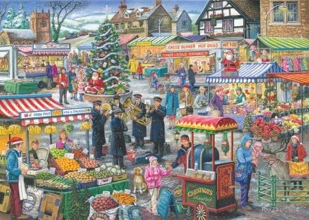 Festive market Kerst markt