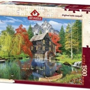 Fishing By The Mill Art Legpuzzels