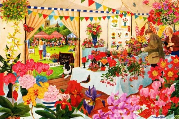 Flower Show The House Of Puzzles Legpuzzel 5060002003619 1.jpg