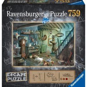 Forbidden Basement Escape Puzzel Ravensburger164356 02 Legpuzzels.nl