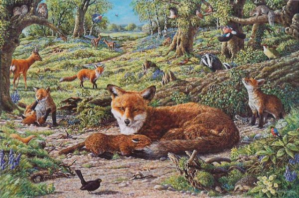 Foxley Wood The House Of Puzzles Legpuzzel 5060002001707 1.jpg
