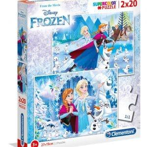 Frozen Clementoni Kinderpuzzel Elza Olaf