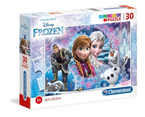 Frozen Clementoni Kinderpuzzels Elsa Anna