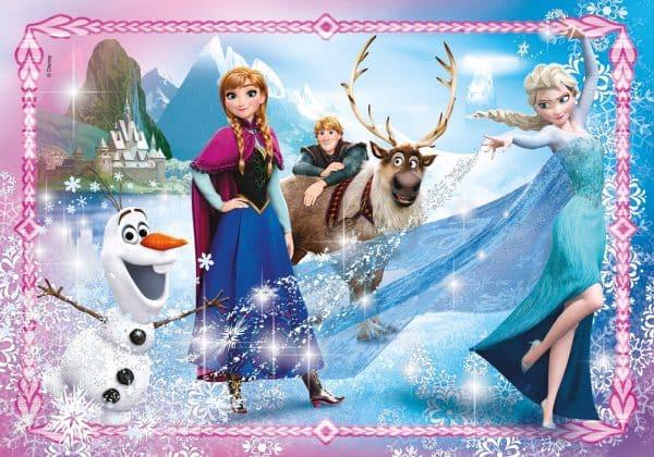 Frozen Juwelen Puzzel Elza Olaf