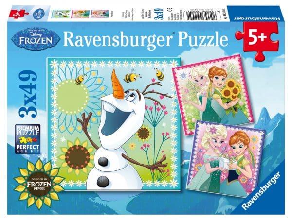 Frozen Disney Frozen Fever Ravensburger092451 01 Kinderpuzzels.nl .jpg