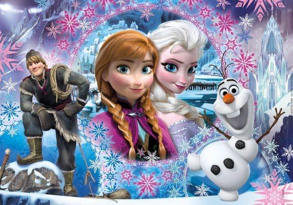 Frozen Glitterpuzzel Elza Anna