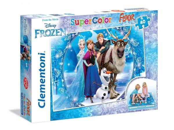 Frozen Vloerpuzzel Kleuren Kinderpuzzel