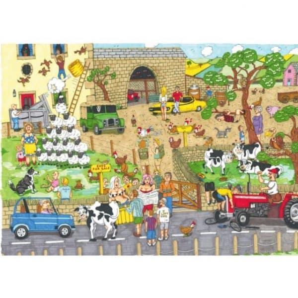 Funny Farm The House Of Puzzles Legpuzzel 5060002003848 1.jpg