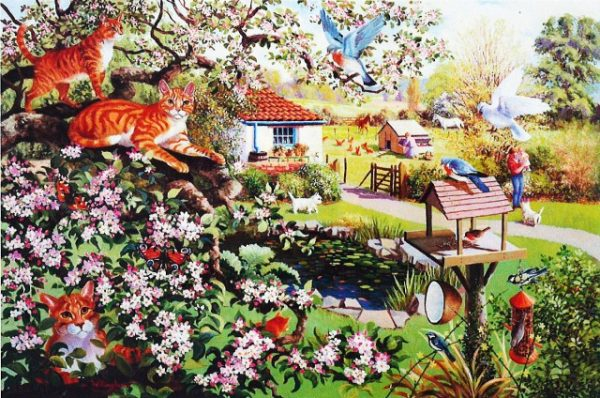 Garden Watch The House Of Puzzles Legpuzzel 5060002001714 1.jpg