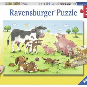 Gelukkige Dierenfamilies Ravensburger075904 01 Kinderpuzzels.nl .jpg
