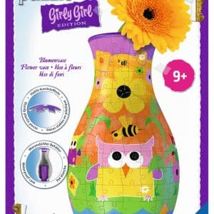 Girly Girl Funky Owls 3d Bloemenvaas Ravensburger120505 01 Kinderpuzzels.nl .jpg