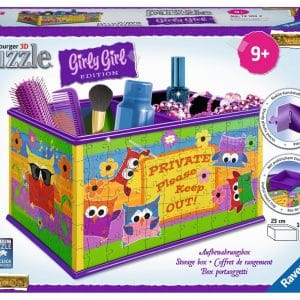 Girly Girl Funky Owls 3d Opbergdoos Ravensburger121052 01 Kinderpuzzels.nl .jpg