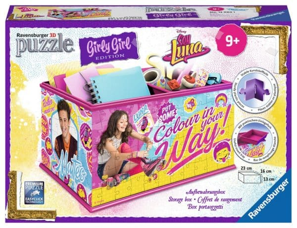 Girl Soy Luna Opbergdoos Kinderpuzzel