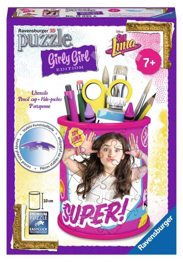 Girl Soy Luna Pennenbak Ravensburger Kinderpuzzel