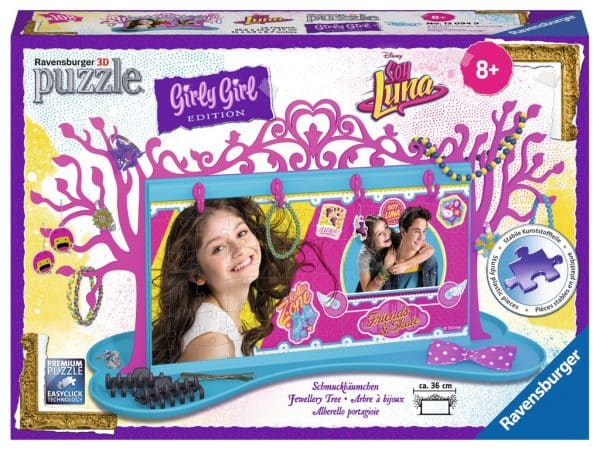 Girl Soy Luna Sieradenboom Kinderpuzzel