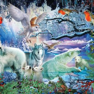 glacier forest 5073 art puzzel 1