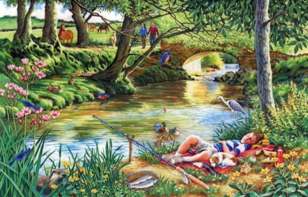 Gone Fishing The House Of Puzzles Legpuzzel 5060002002742 1.jpg