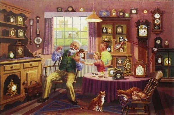 Grandfather Time The House Of Puzzles Legpuzzel 5060002002551 1.jpg